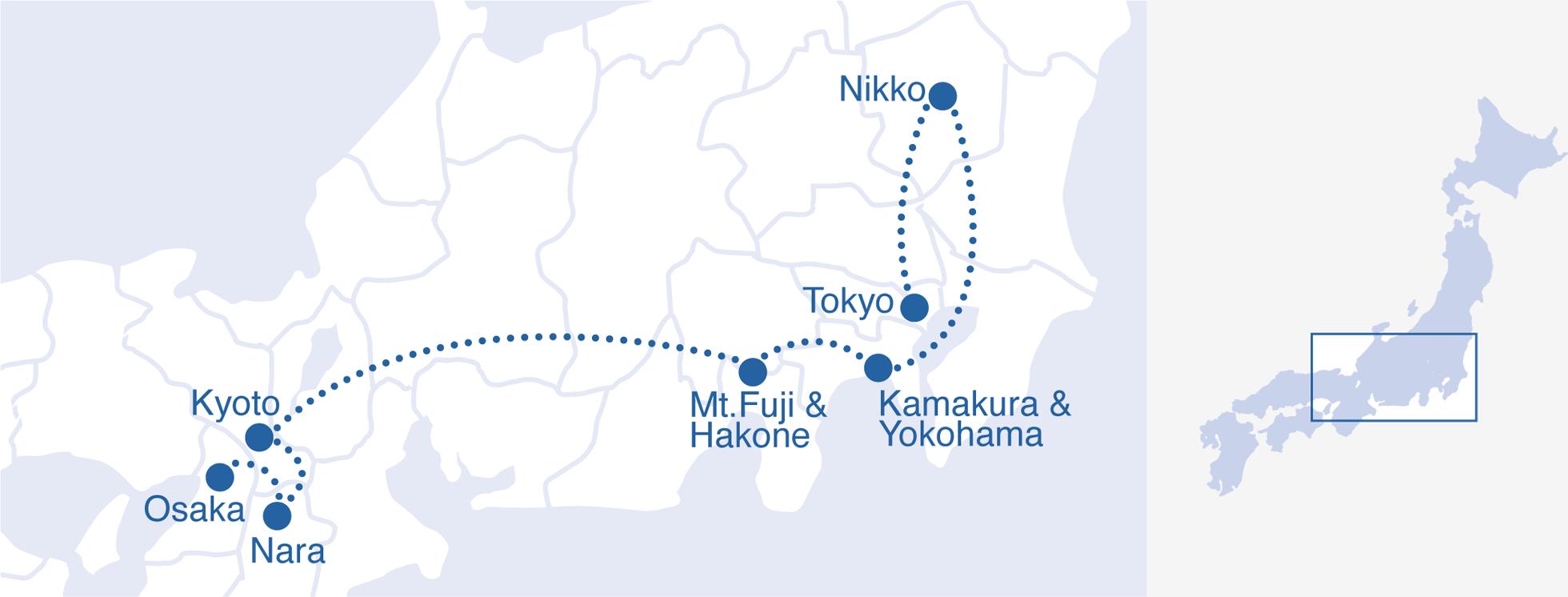 DMC Japan Days Japan Golden Route - Japan map 9
